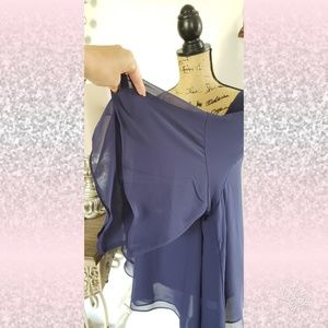 Lane Bryant Tops - Flowy vneck sheer summer top shirt sz 22/24